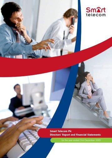 Smart Telecom Plc Directors¼ Report and Financial Statements