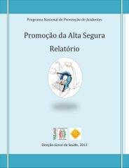 Relatório da Promoção da Alta Segura e da ... - Mimo Natura