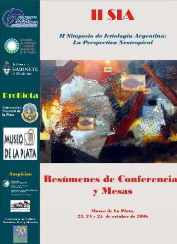 Ictiología Marina - Facultad de Ciencias Exactas, Físicas y Naturales
