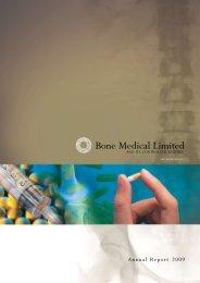 Details - Bone Medical Ltd
