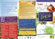 Pupils Choice Menu - Homerswood Primary & Nursery School