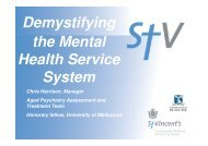 Demystifying the Mental Health Service System - Ethnic ...