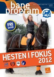 Hesten i Fokus 2012 - Skive Trav