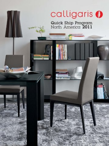 catalogue - Calligaris Toronto Store