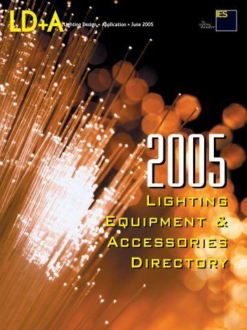 0605 cover. LD+A V - Illuminating Engineering Society