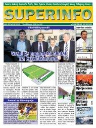 Gradi se nogometni centar na Crkvičkom brdu - Superinfo