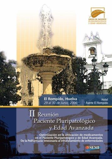 El Rompido, Huelva - Sociedad Española de Medicina Interna
