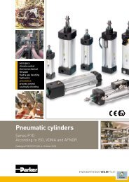 Pneumatic cylinders - Wiltec