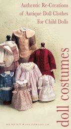 Costume Catalog - Dollmasters