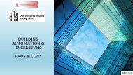 BUILDING AUTOMATION & INCENTIVES PROS & CONS