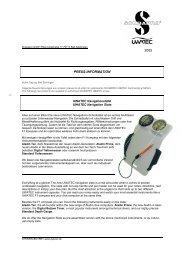 2005 PRESS-INFORMATION - Dykkercentret
