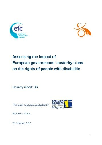 effects of austerity measures on communities The true cost of austerity and inequality uk case study pre-crisis uk while austerity measures have had some impact on reducing the deficit.