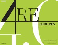 ARE Guidelines – August 2013 - NCARB
