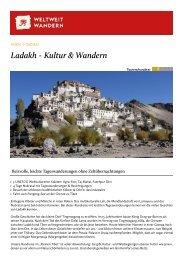 Ladakh - Kultur & Wandern - Weltweitwandern