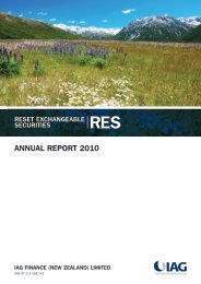RES annual report 2010 - IAG