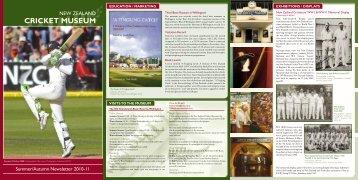 Summer/Autumn 2010/11 - New Zealand Cricket
