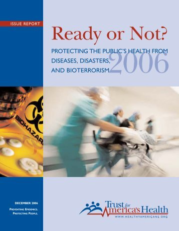 Ready or Not? 2006 - Trust for America's Health