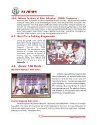 Short Term Training Programmes/NIOS - Ali Yavar Jung National ...