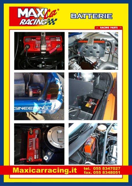 BATTERIE - Maxi Car Racing