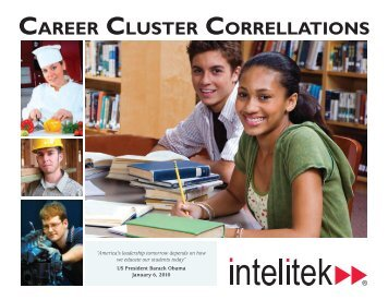CAREER CLUSTER CORRELLATIONS - Intelitek