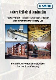 Factory Built Timber Frame With JJ Smith Woodworking