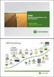 Exaktes Parallelfahren mit RTK - Landwirt.com