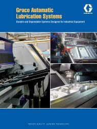 Graco Automatic Lubrication Systems Brochure - Graco Inc.