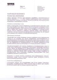 Tilintarkastuskertomus - Tecnotree