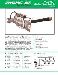 Three-Way Sliding Hose Switch Bulletin 20720 2 ... - Dynamic Air Inc.