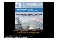 Farmacogenetica y avances en el tratamiento de la hepatitis C