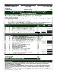 Emergency Management – Advanced Professional Development ...