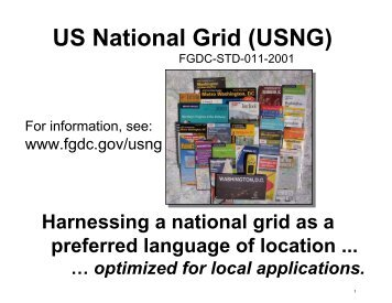 US National Grid (USNG) - MnGeo