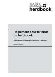 Le Swiss Herd-book