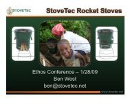 StoveTec Rocket Stoves Rocket Stoves