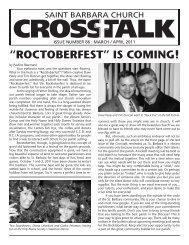Crosstalk 86 - St. Barbara Church