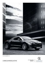 cirkaprislista - Peugeot