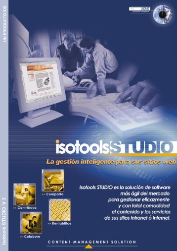 Folleto comercial - Isotools Studio