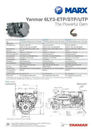 Yanmar 6LY3-ETP/STP/UTP - MARX