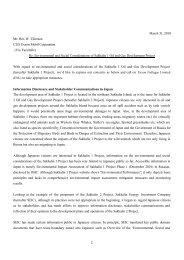 A letter to Exxon regarding environmental and social considerations ...