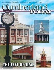 Summer 2003 - University of the Cumberlands
