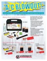 Heavy Duty Leak Detection Kit