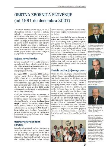 OBRTNA ZBORNICA SLOVENIJE (od 1991 do decembra 2007) - OZS