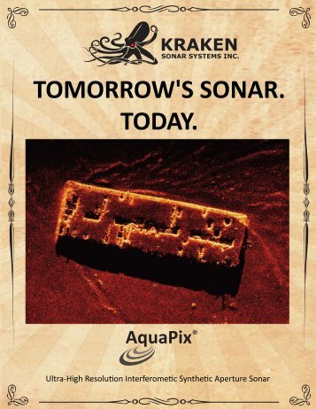 TOMORROW'S SONAR. TODAY.