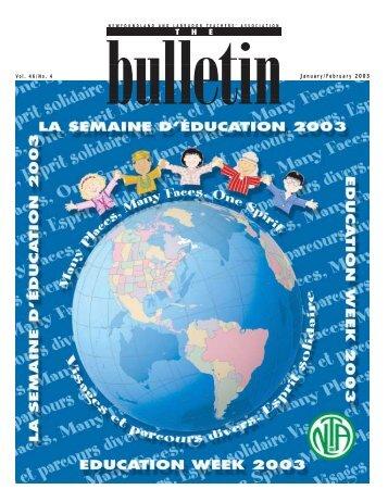 The Bulletin - Newfoundland and Labrador Teachers' Association