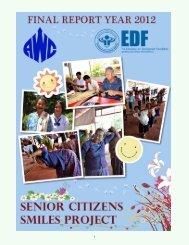 EDF-Senior Citizens Smile Project Final Report 2012 - American ...