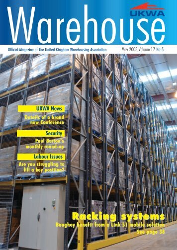 UKWA PDFS MAY - United Kingdom Warehousing Association
