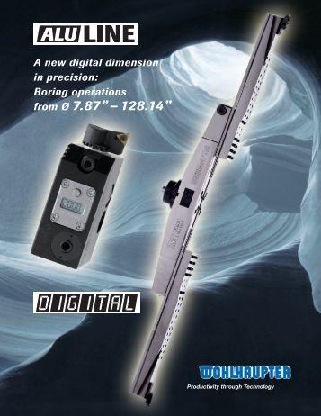 Alu-Line Big Bore Brochure - Wohlhaupter Corporation