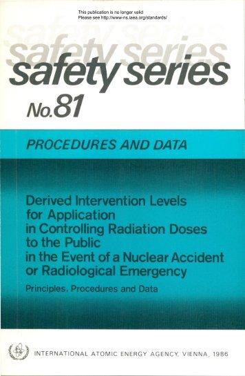 Safety_Series_081_1986 - gnssn - International Atomic Energy ...