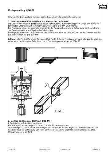 Montageanleitung