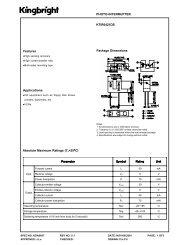 KTIR0421DS PHOTO-INTERRUPTER Features Package ...